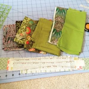 Fabric pull/cuts