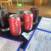 Last day in Boston - we magically ended up with the perfect cokes for lunch!